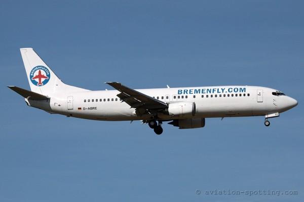 Bremenfly Boeing B737-400 (Germany)