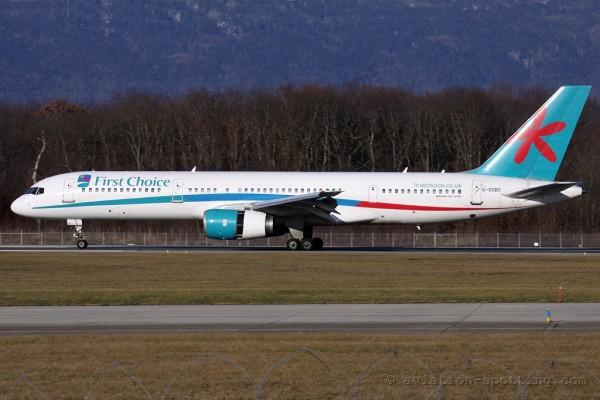 First Choice Airways Boeing B757-200 (UK)