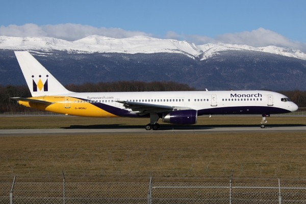 Monarch Airlines Boeing B757-200 (UK)