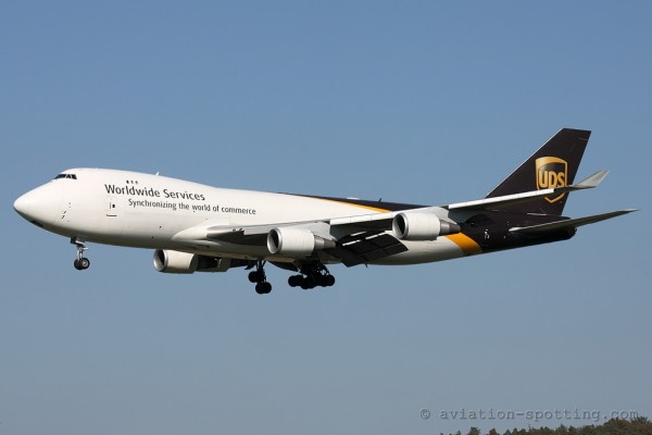 UPS Airlines Boeing B747-400 F (USA)