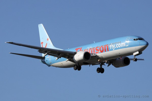 Thomsonfly Boeing B737-800 (UK)