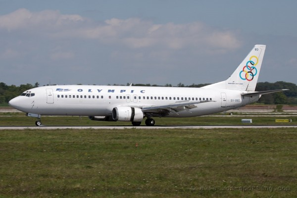 Olympic Airlines Boeing B737-400 (Greece)