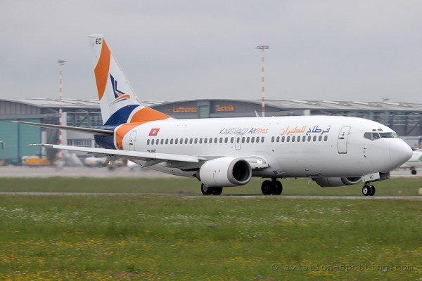 Karthago Airlines Boeing B7373-300 (Tunisia)