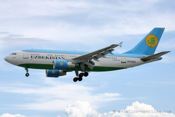 Uzbekistan Airways Airbus 310