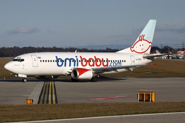bmiBaby Boeing B737-300 (UK)