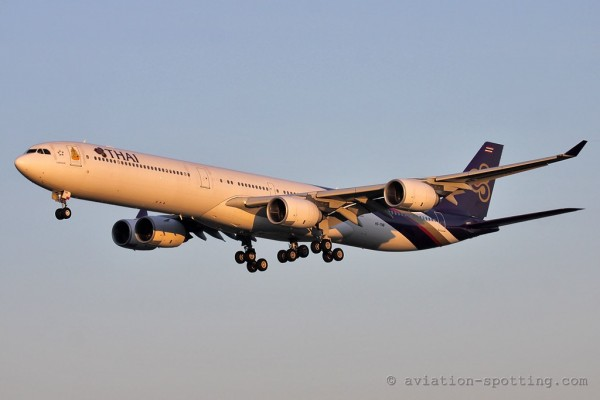 Thai Airways International Airbus 340-600