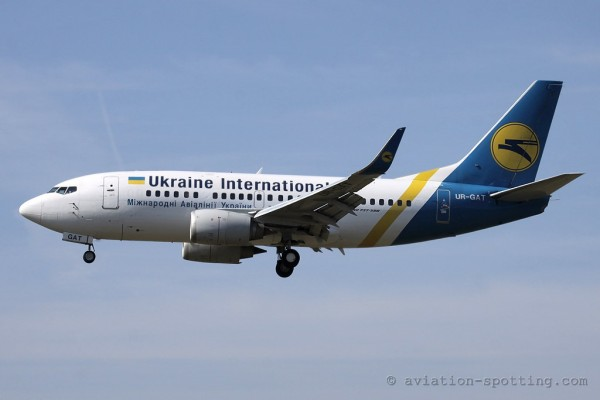 Ukraine International Airlines Boeing B737-500 (Ukraine)