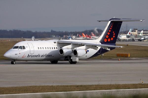 Brussels Airlines BAe Avro RJ-100 (Belgium)