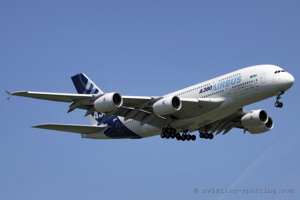 Airbus 380 house colours