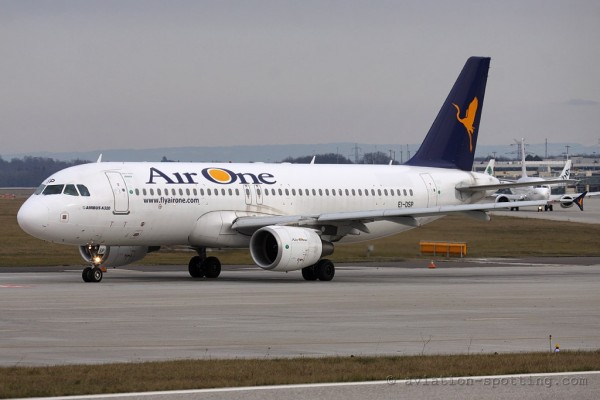 Air One Airbus 320 (Italy)