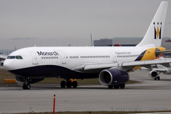 Monarch Airlines Airbus 330-200 (UK)