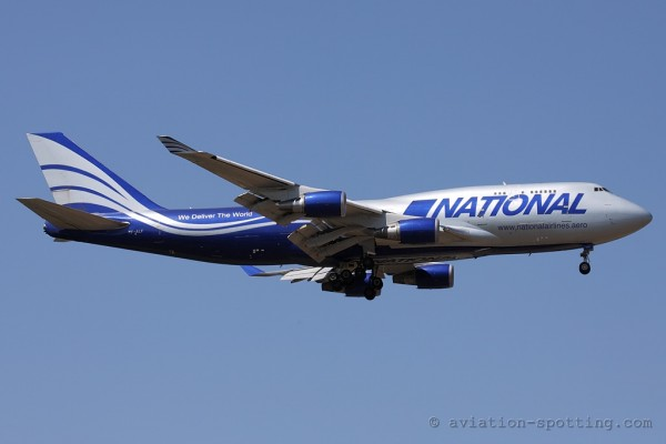 National Airlines Boeing B747-400 (USA)