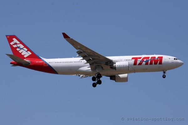 TAM Linhas Aereas Airbus 330-200 (Brazil)