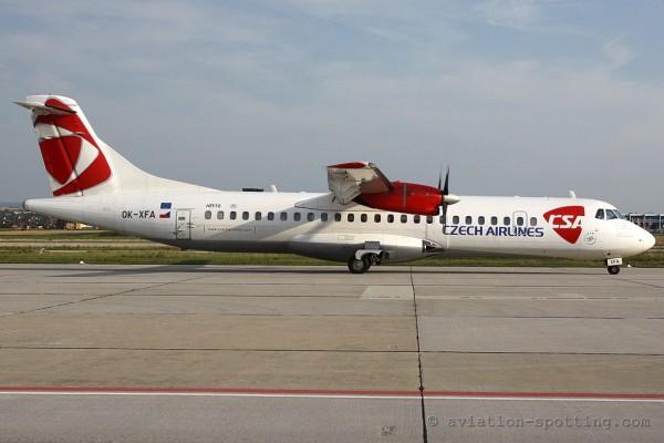 CSA Czech Airlines ATR72
