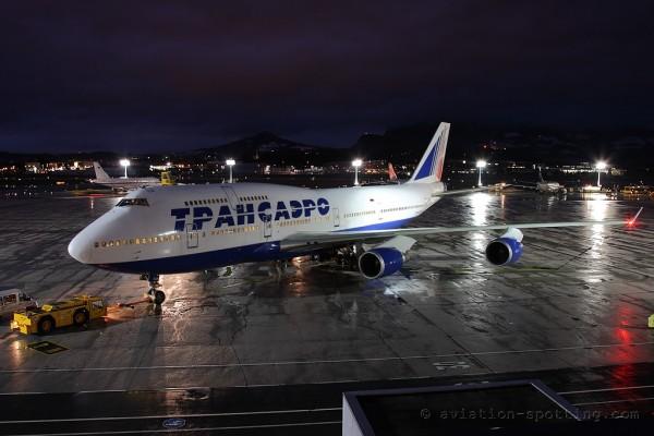 Transaero Airlines Boeing B747-400 (Russia)