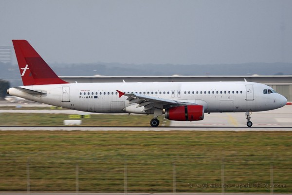 Amsterdam Airlines Airbus 320 (Netherlands)