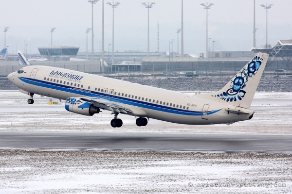 Moskovia Boeing B737-800 (Russia)