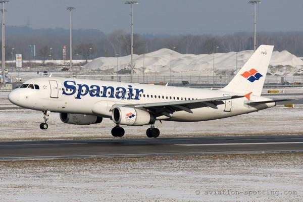 Spanair Airbus 320 (Spain)