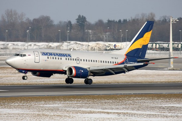 Donavia Boeing B737-500 (Russia)