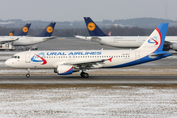 Ural Airlines Airbus 320 (Russia)