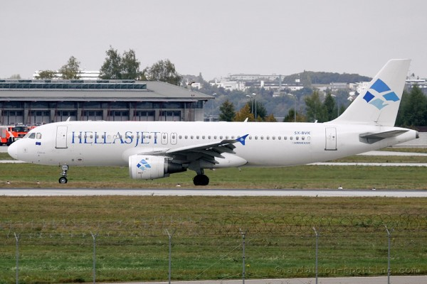 Hellas Jet Airbus 320 (Greece)