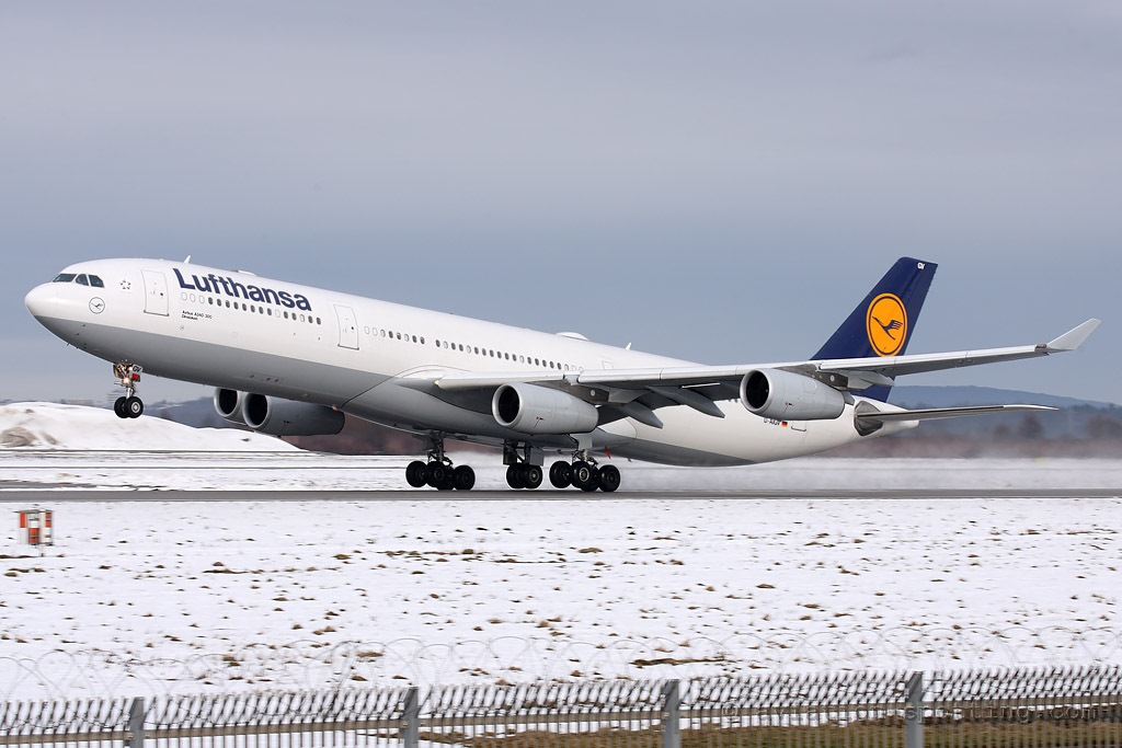 Lufthansa Airbus A340-300 (Germany)