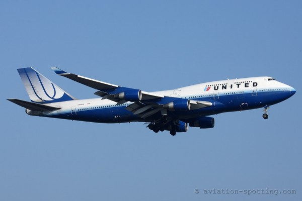United Airlines Boeing B747-400 (USA)