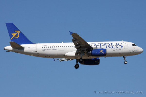 Cyprus Airways Airbus 320