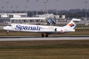 Spanair Boeing B717 (Spain)