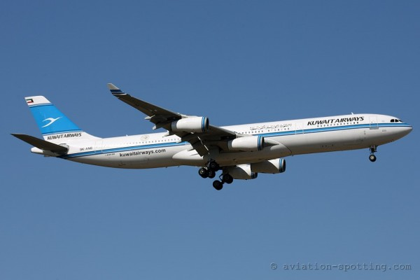 Kuwait Airways Airbus 340-300