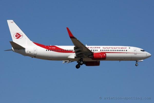 Air Algerie Boeing B737-800 (Algeria)