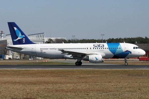 SATA Internacional Airbus 320 (Portugal)