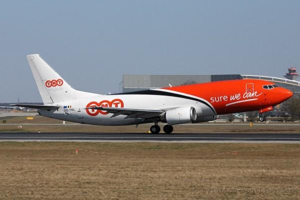 TNT Airways Boeing B737-300 (Belgium)
