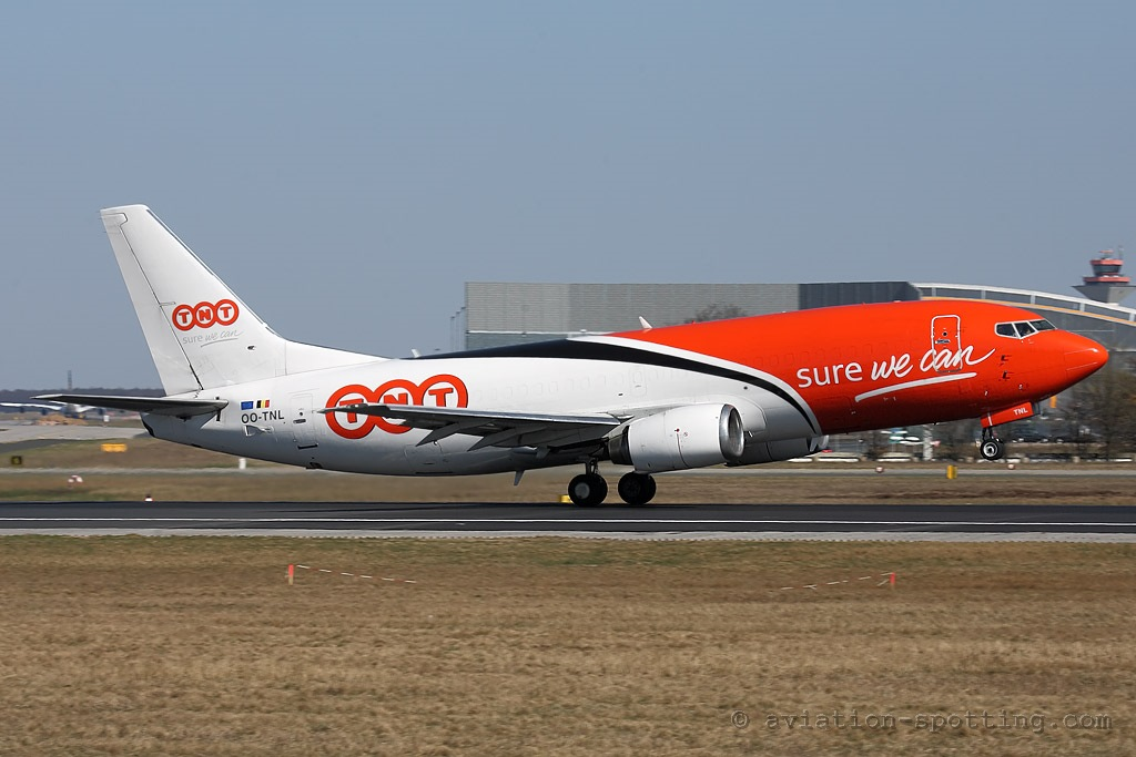 TNT Airways Boeing B737-300 (Belgium)