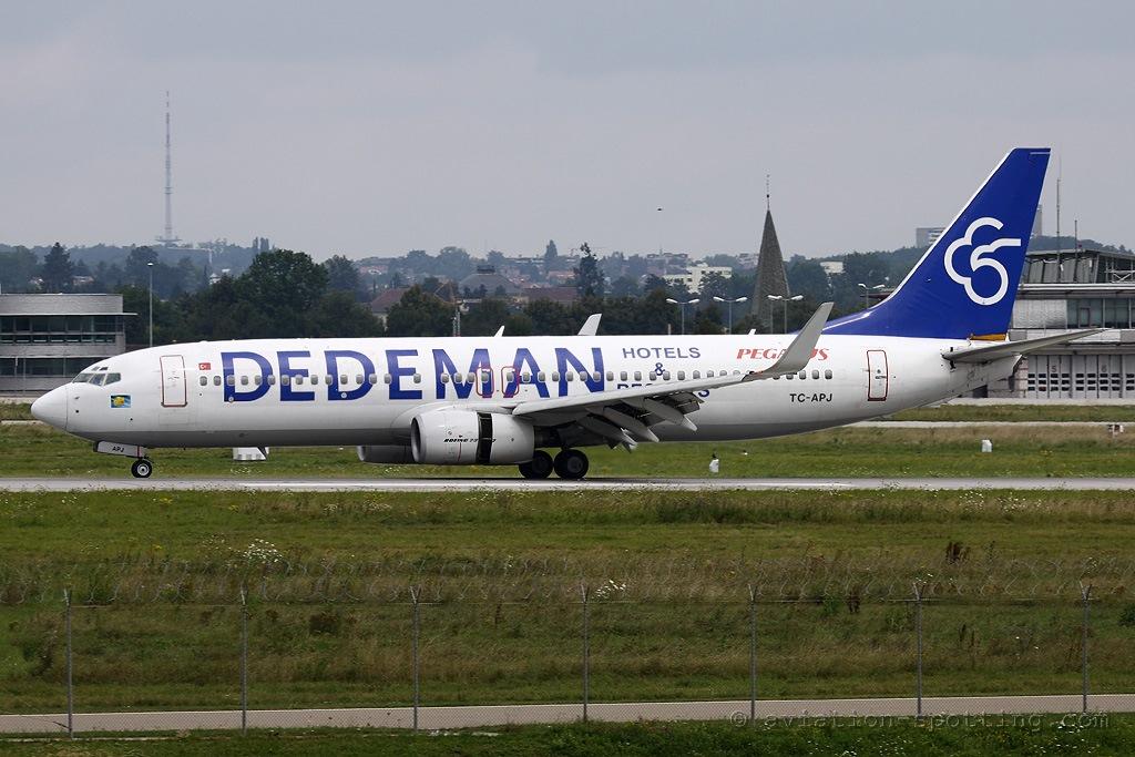 Pegasus Airlines Boeing 737-800 Dedeman Special colours (Turkey)