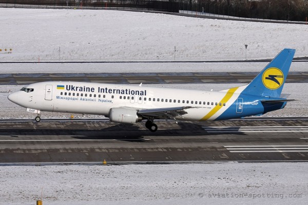 Ukraine International Airlines Boeing B737-400 (Ukraine)