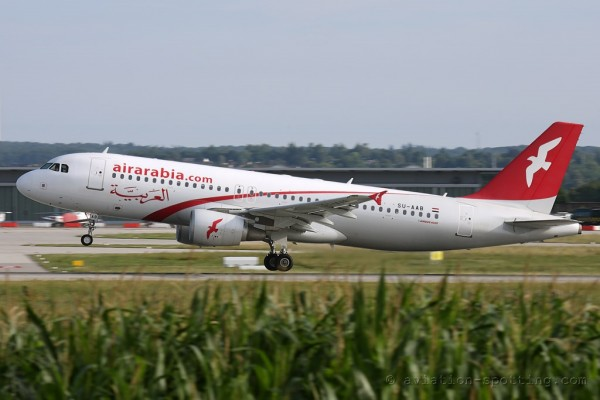 Air Arabia Egypt Airbus 320
