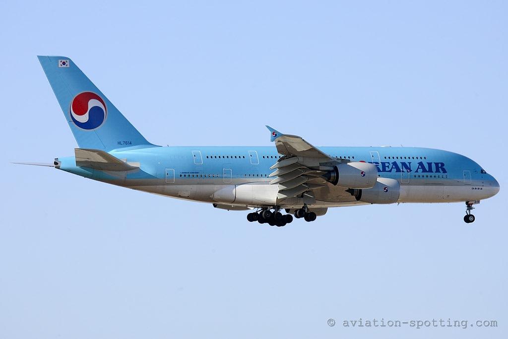 Korean Air Airbus 380 (South Korea)