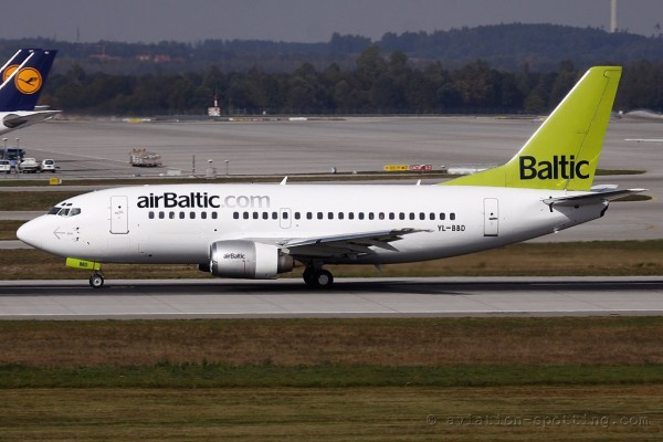 Air Baltic Boeing B737-500 (Latvia)