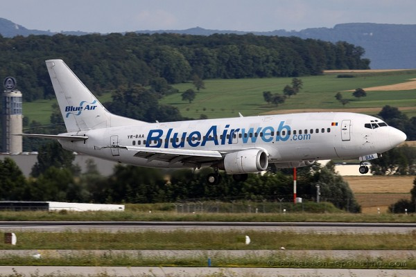 Blue Air Boeing B737-300 (Romania)