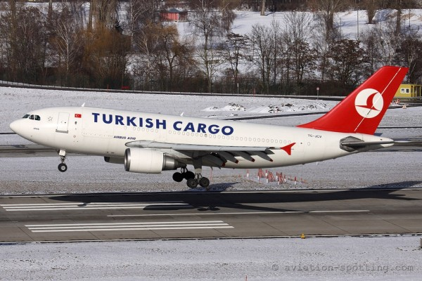 Turkish Airlines Cargo Airbus 310 F