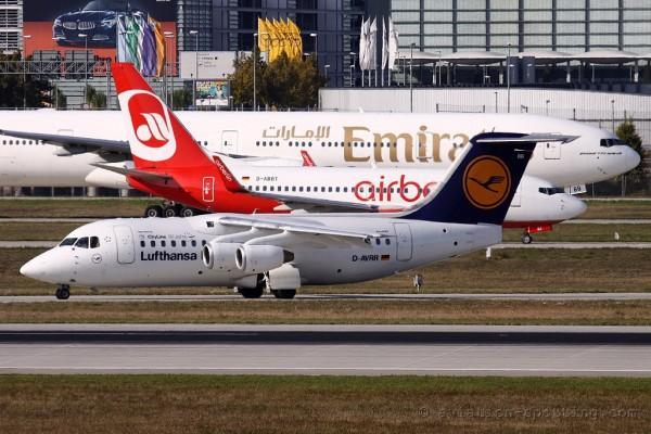 Lufthansa Regional BAe Avro RJ-85 (Germany)