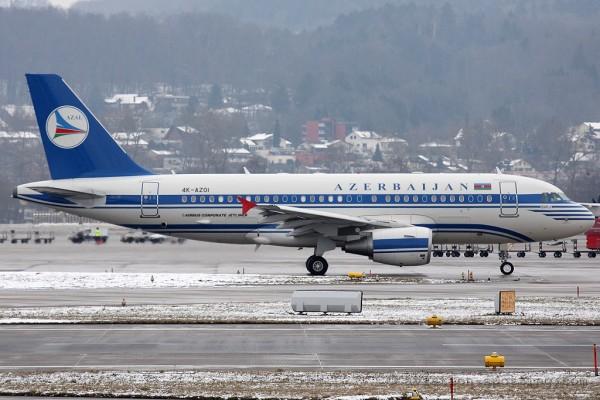 Azerbaijan Government Airbus 319 CJ