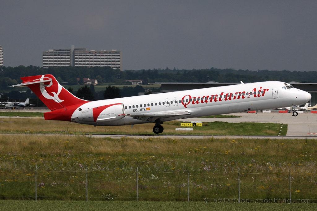 Quantum Air Boeing B717 (Spain)