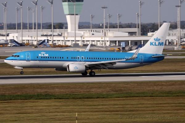KLM Boeing B737-800 (Netherlands)