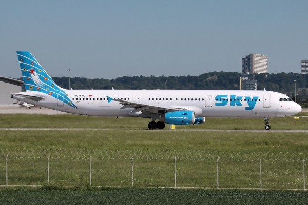 Sky Airlines Airbus 321 (Turkey)