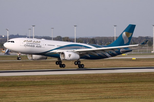 Oman Air Airbus 330-200