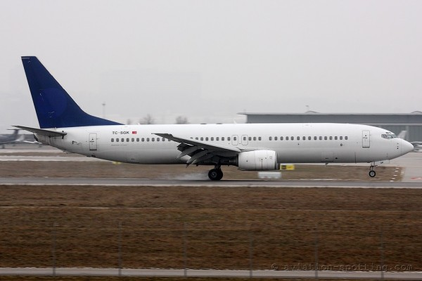 SAGA Airlines Boeing B737-800 (Turkey)
