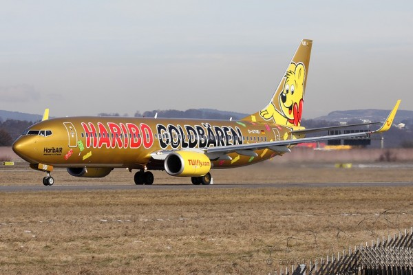 TUIfly Boeing B737-800 Haribo special colours (Germany)