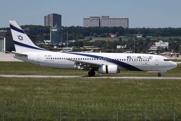 EL AL Israel Airlines Boeing B737-800